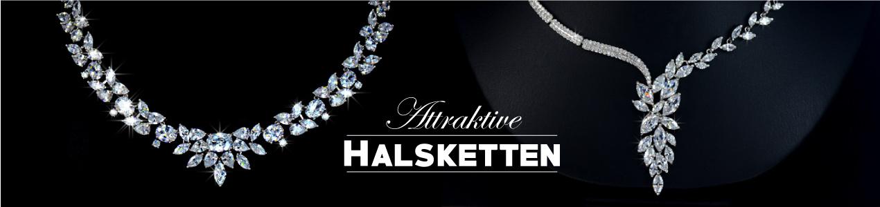 Attraktive-Schmuck-Halsketten
