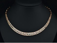 "Gold Necklace ""Prestige G"""