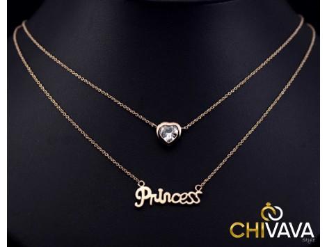 """Zlata verižica """"Princess"""""""