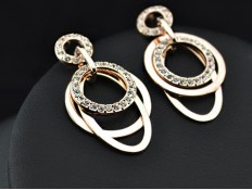 "Earrings ""Goldie"""