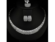 "Jewelry set ""G Prestige White gold"""